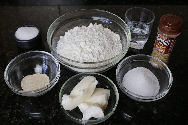 Ingredientes para tortas de manteca