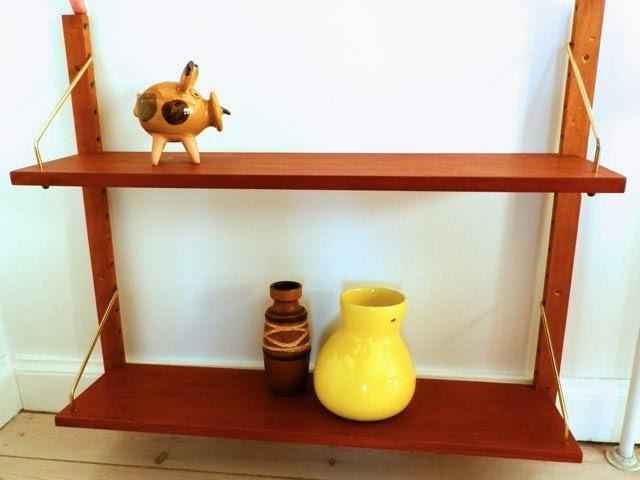Afholte Retro Furniture: Teaktræ reol MO-08