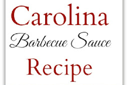Carolina Barbecue Sauce Recipe