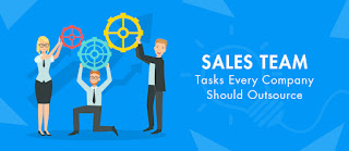 Sales team task every company should outsource