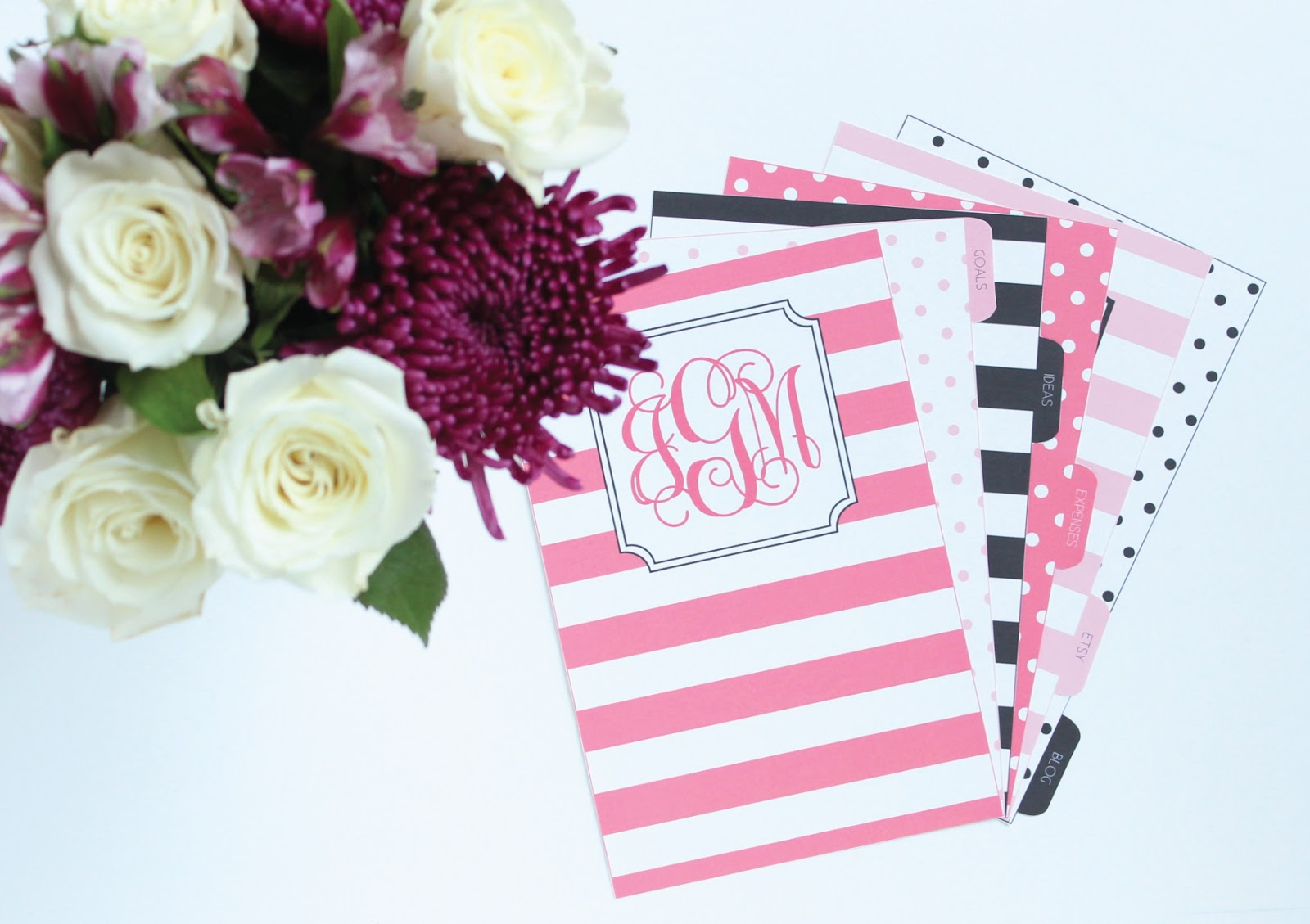 Jessica Marie Design Blog: Printable Dividers for your ...