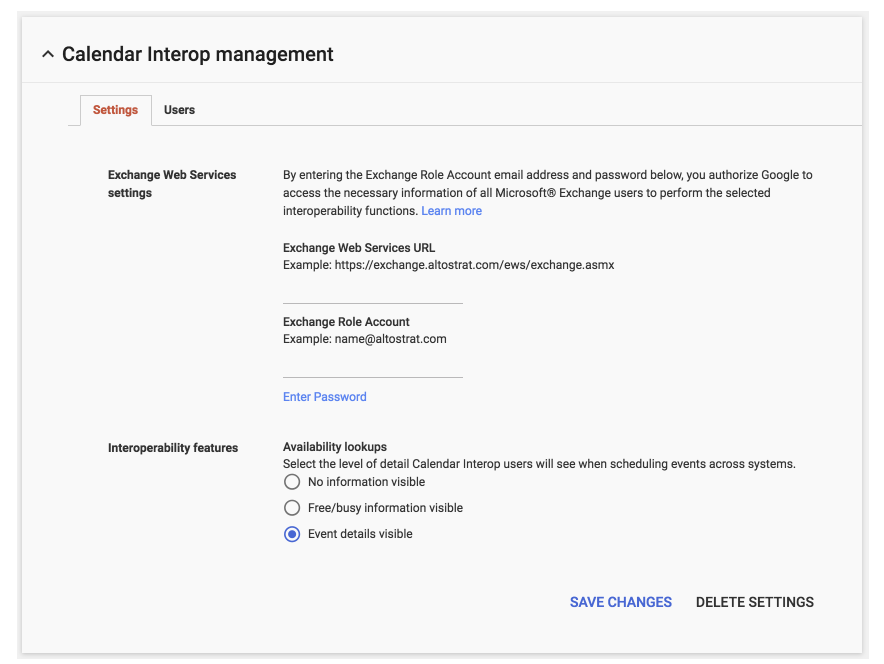 G Suite Updates Blog: Event details now supported by