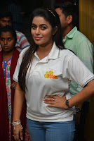 Poorna Photo Shoot from JNR Theater tour HeyAndhra
