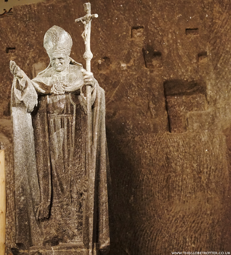 The Wieliczka Salt Mine - Pope John Paul II