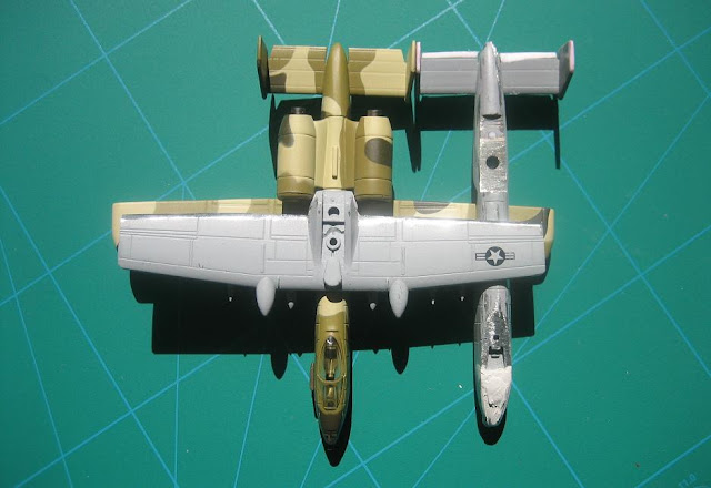 1/144 Fairchild A-10 Warthog kit