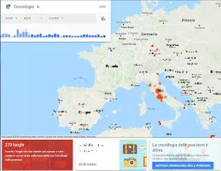 cronologia posizioni google