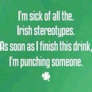 Funny Irish stereotypes meme joke picture