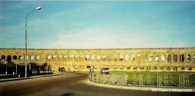 El acueducto de San Lázaro, Mérida