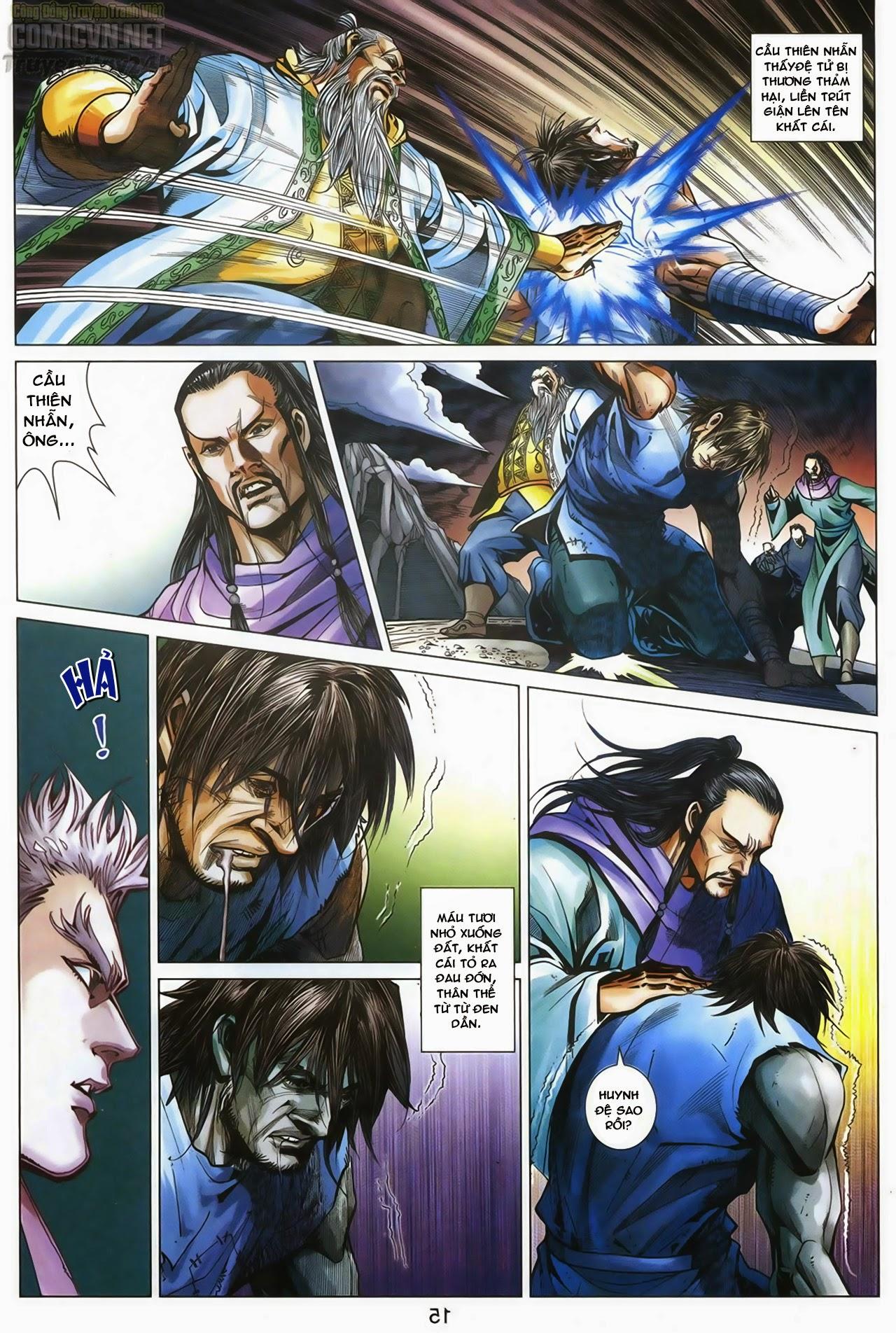 Anh Hùng Xạ Điêu anh hùng xạ đêu chap 67: quyết chiến hiên viên đài trang 14