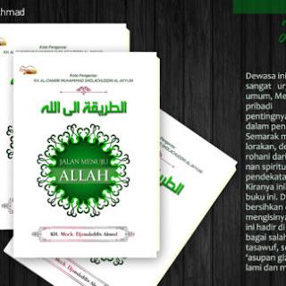 Buku JALAN MENUJU ALLAH Toko Buku Aswaja Surabaya
