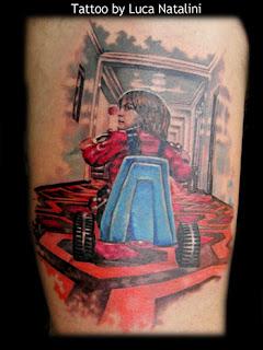 The Shining Tattoo : shining, tattoo, Stephen, King:, Shining, Tattoo