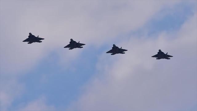 Cazas F-22 de EEUU llegan a Seúl para mostrar músculo a Pyongyang