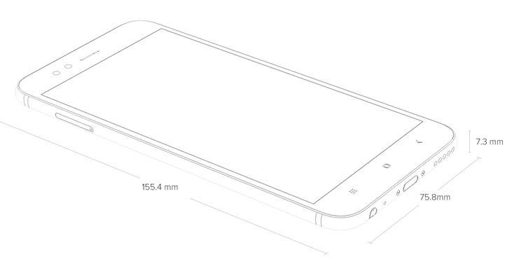 Deskripsi Xiaomi Mi A1 Smartphone Android One Terbaik