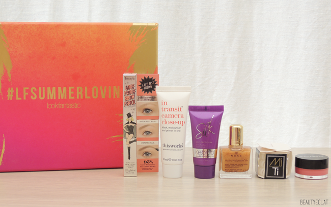 Lookfantastic Beauty Box Summer Lovin