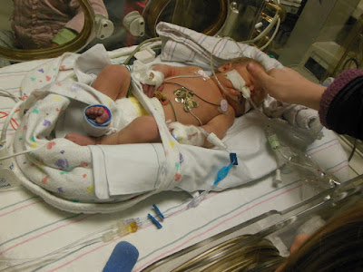 Being a NICU Mom: My Story  -- What's it like to have a preemie in the NICU?  {posted @ Unremarkable Files}