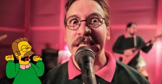 La banda vestida como Flanders lanza álbum Howdilly Doodily