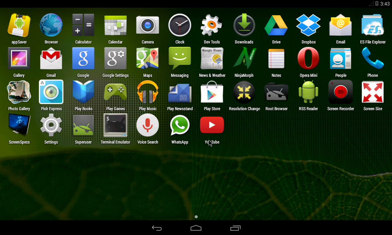 T3CH GURU: Changing Android Screen Resolution In Vmware