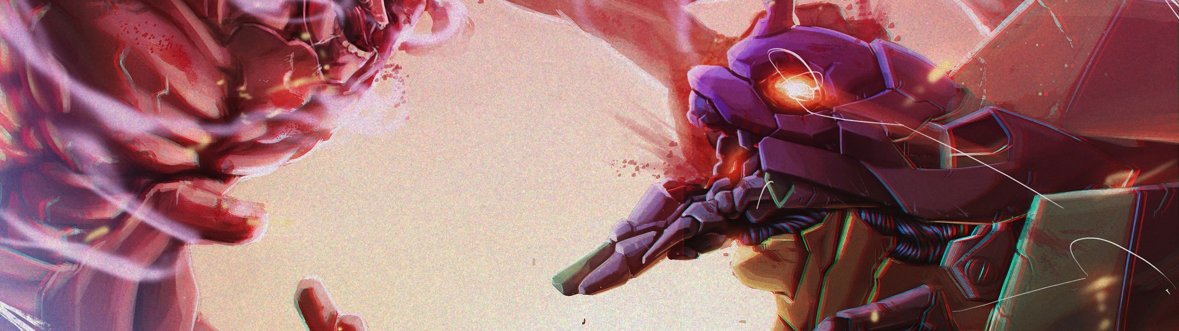Attack Titan Vs Evangelion Attack On Titan 4k Wallpaper 49