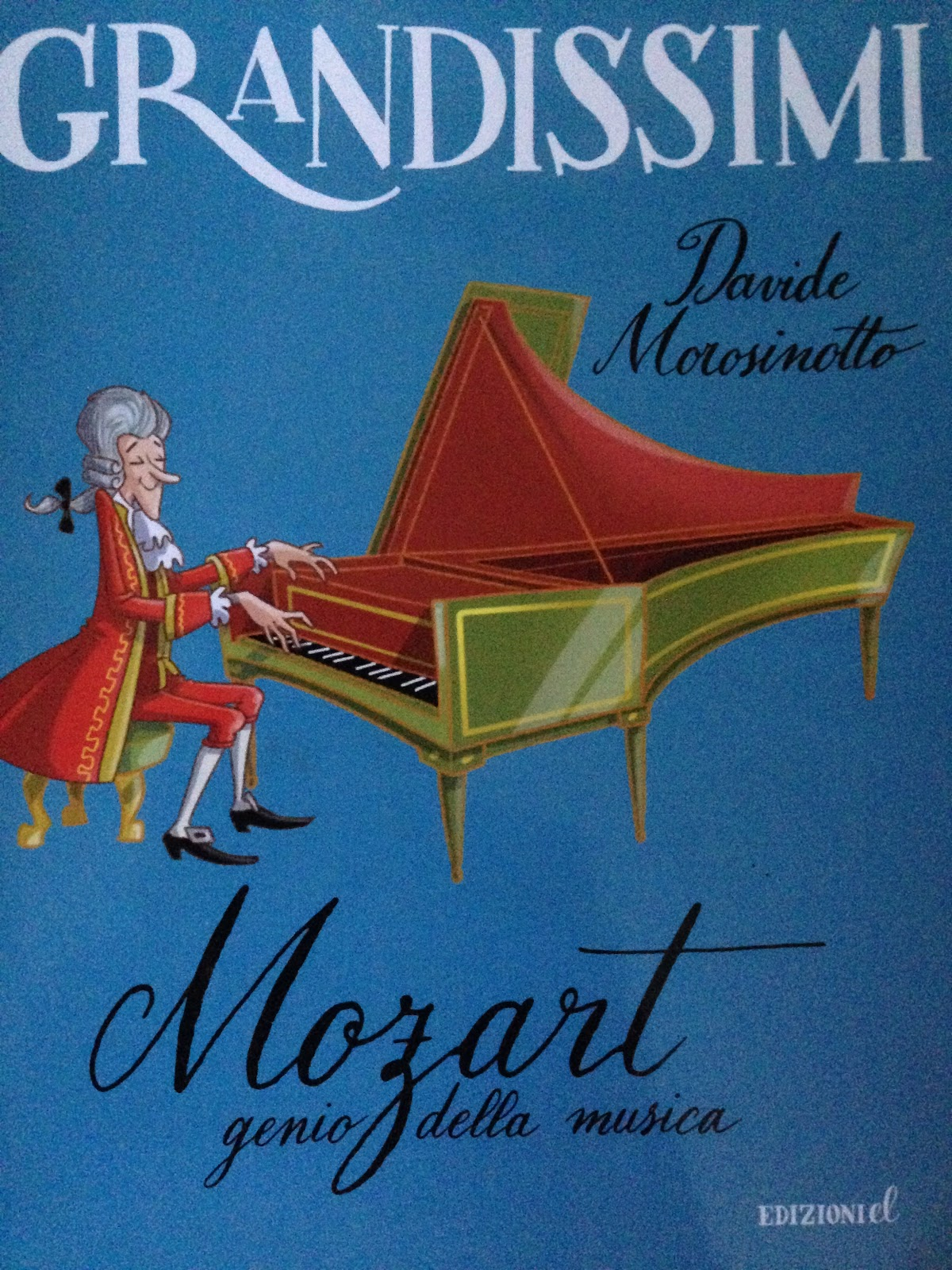 Piccoli viaggi musicali libro di lettura mozart genio - Libro da colorare elefante libro ...