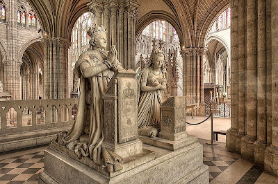 Funerary monuments of King Louis XVI and Queen Marie Antoinette