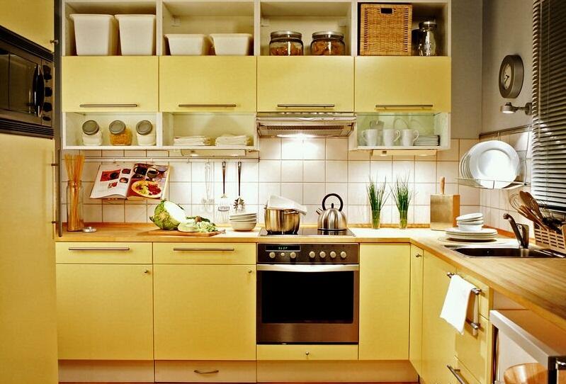 Cores para armários de cozinha para decorar