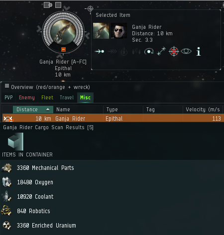 Cloaky Bastard: Stalking high-sec wormholes