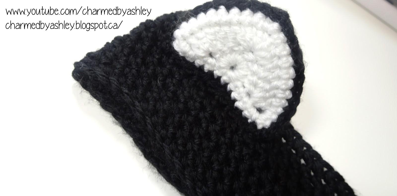 Hat With Cat Ears Crochet Pattern