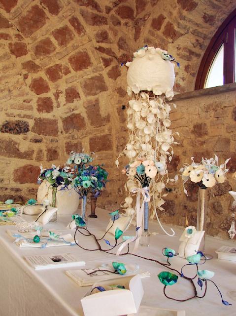 allestimento per matrimonio ecosotenibile in stile Monet