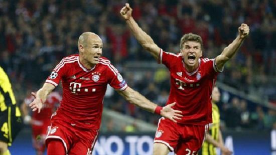Bayern Munich quá mạnh so với Hertha Berlin.
