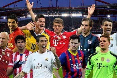 Daftar 10 Pemain Terbaik Eropa 2014
