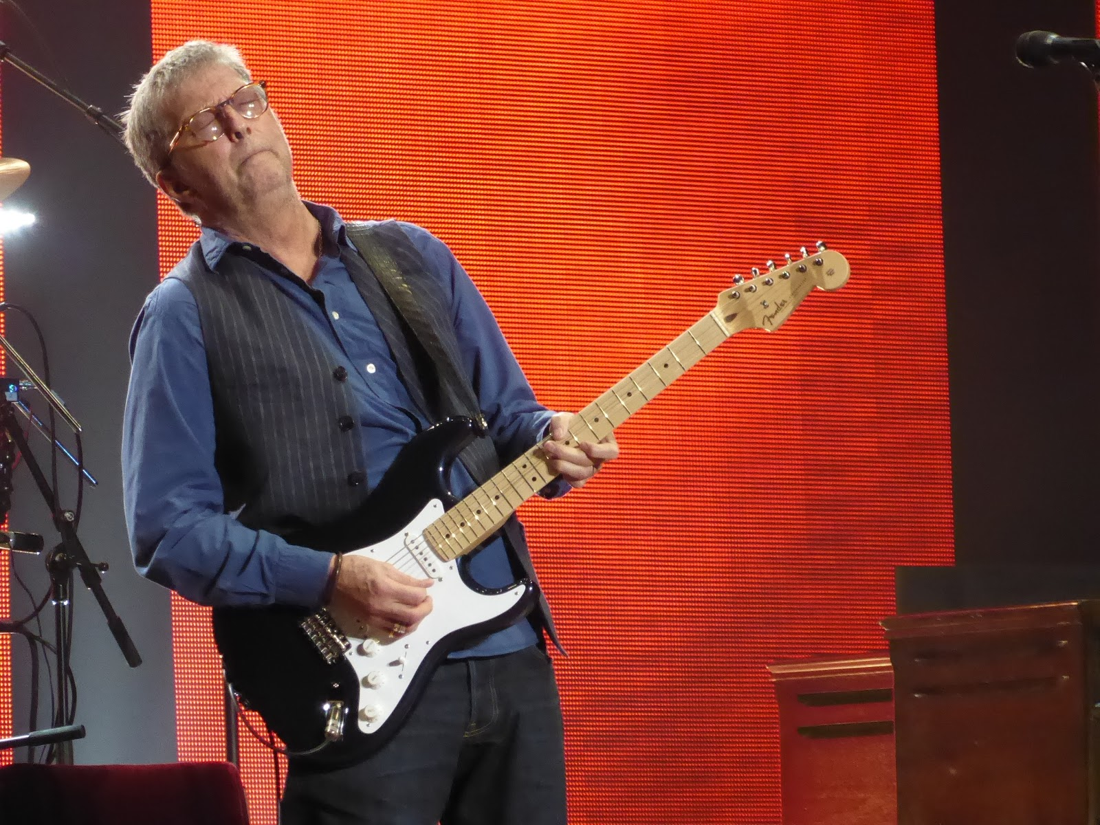 Dusted Tour De Michigan Eric Clapton At Madison Square Garden