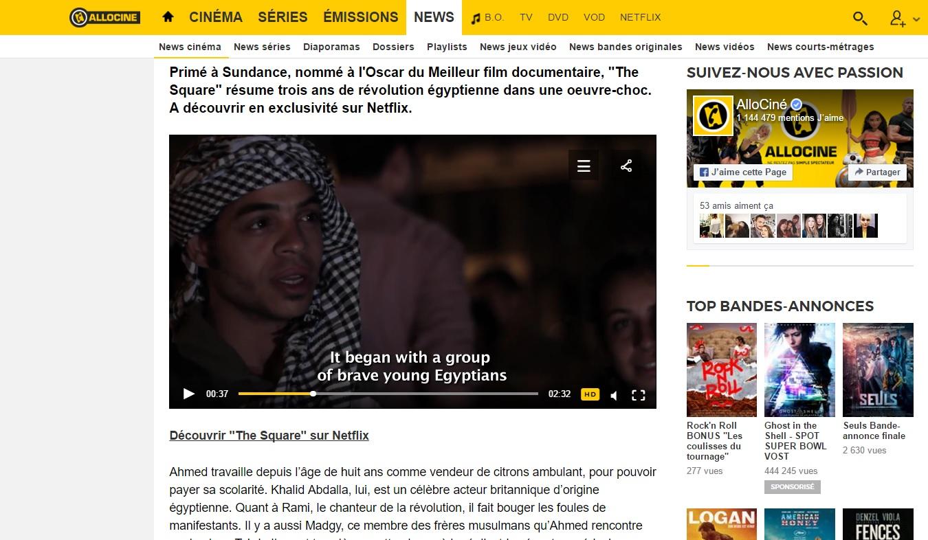 en ligne de rencontres documentaire Netflix