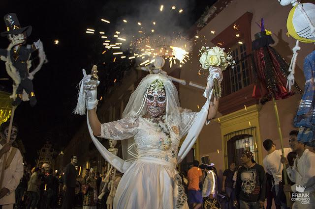 novia catrina dia de muertos en Oaxaca