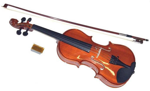 الآلات الوترية ذات القوس-  عائلة الكمان