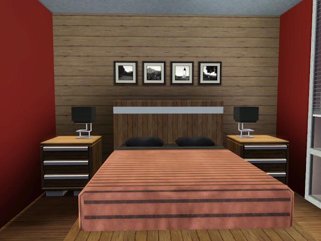 maison sims 3 décoré sans téléchargements