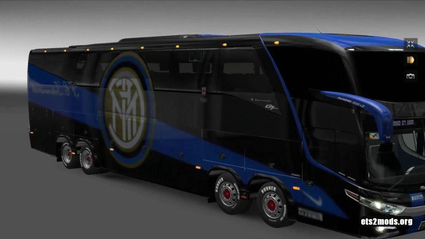 Bus - Marcopolo G7 1600LD FC Inter Milano