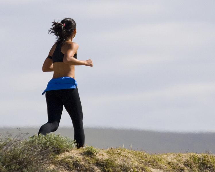 La parturiente et la marathonienne