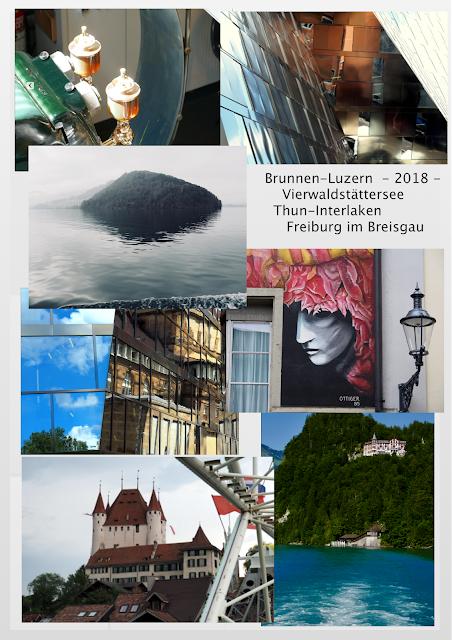 Brunnen-Luzern-Vierwaldstättersee-Thun-Interlaken-Freiburg