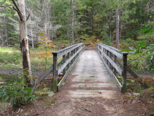 Midland to Mackinac Trail bridge