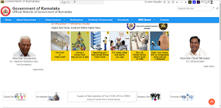 Karnataka Government Official Website