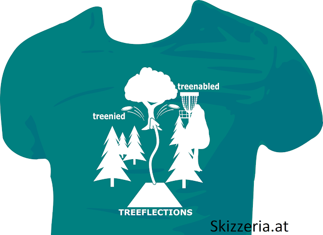 Treeflections Shirtdesign by skizzeria.at