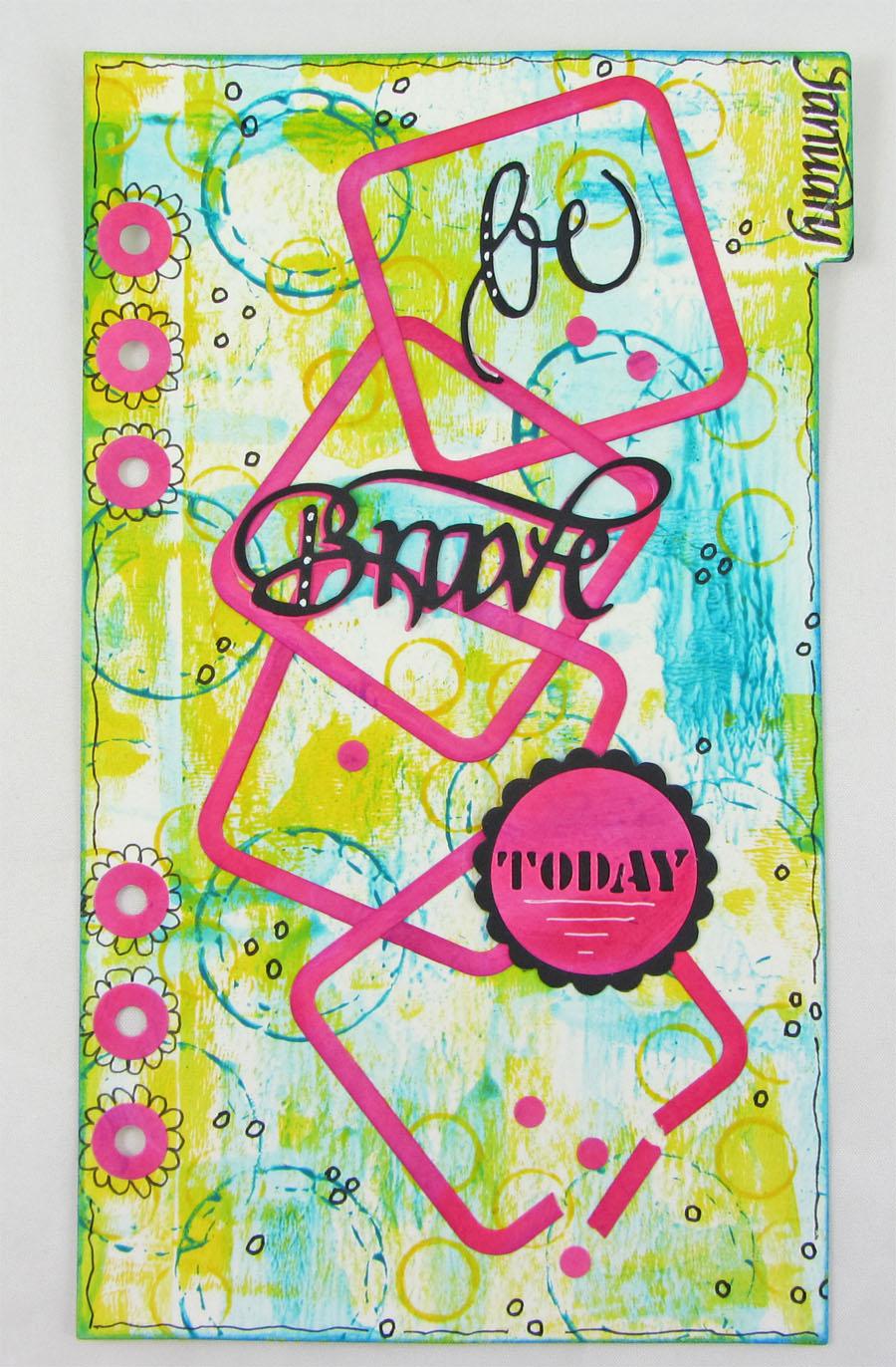 Art By Wanda Elizabeth Craft Designs January Designer Challenge