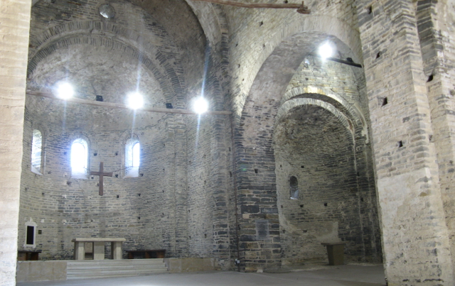 Interiori de l'església
