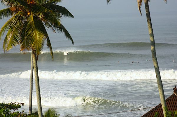 is a dark greyish sandy beach inwards the southern coast of W Bali which is rattling famous for sec BaliTourismMap: Balian Beach: Bali Surf Spots inwards West Bali Indonesia