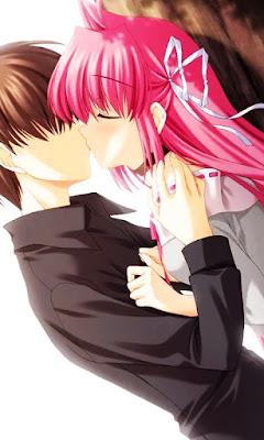 imagenes de animes romanticos