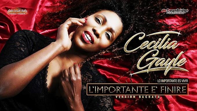 Cecilia Gayle canta il successo di Mina 'L'importante è finire'