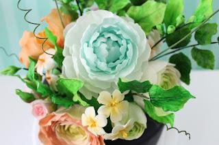 Pasta para flores receta
