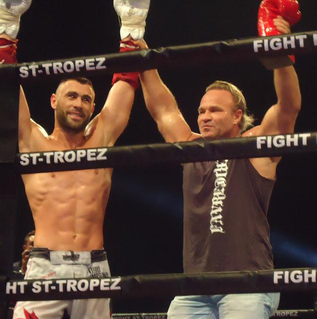 Yohann Lindon Fight Night Saint-Tropez