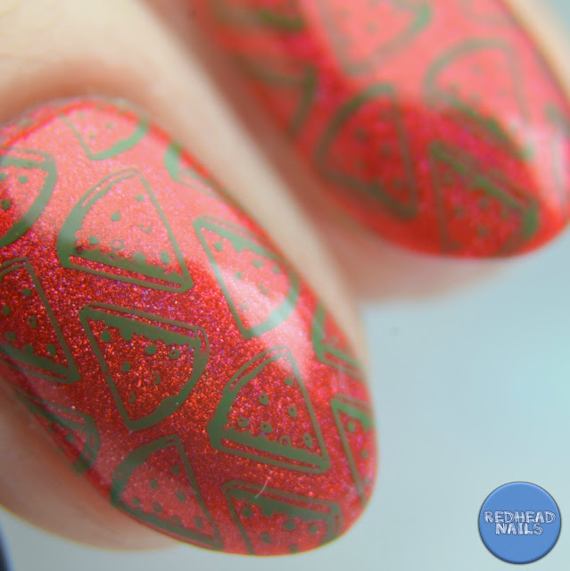 "Barry M ""Watermelon"" swatch"