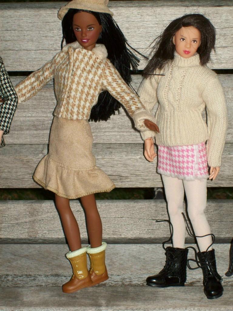 Think, Barbie pantyhose playscale bad turn